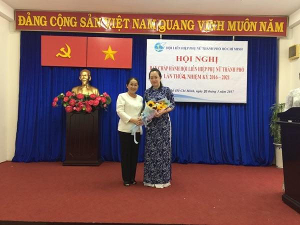 Ba Nguyen Thi Ngoc Bich thoi lam Chu tich Hoi Lien hiep phu nu TP.HCM hinh anh 1