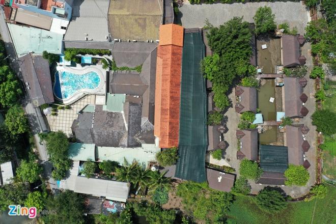 Chính thức cưỡng chế tổ hợp Gia Trang quán – Tràm Chim resort