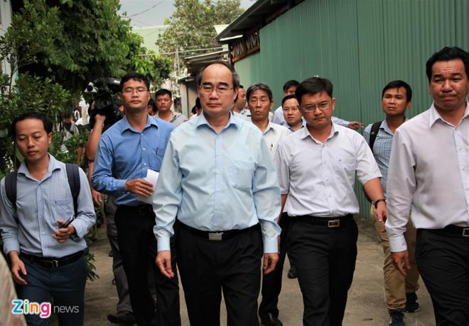Xay 37 cong trinh sai phep tren 4.600 m2 dat nong nghiep o Thu Duc hinh anh 1 bi_thu_nguyen_thien_nhan_zing.jpg