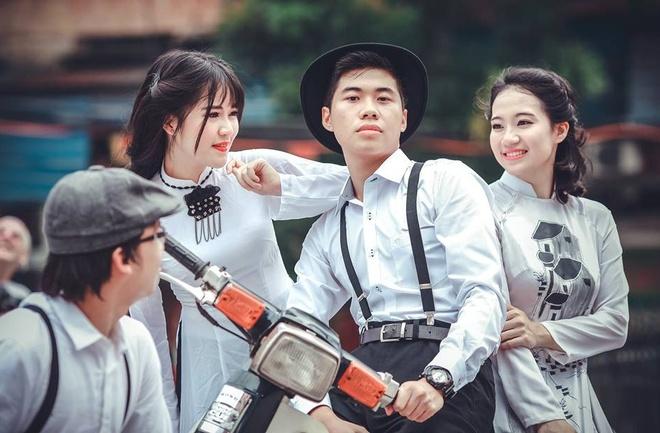 Bo anh Ha Noi nhung nam 80 cua sinh vien Ngoai thuong hinh anh 5