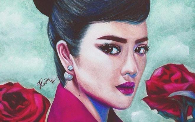 Clip Dang Hoang the hien tai ve tranh hinh anh