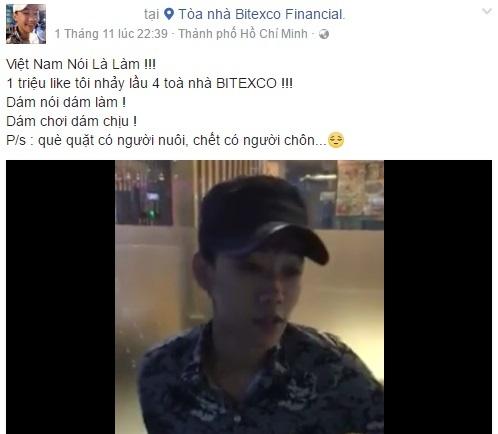 9X hua nhay tu tang 4 Bitexco neu du 1 trieu like bi len an hinh anh 1