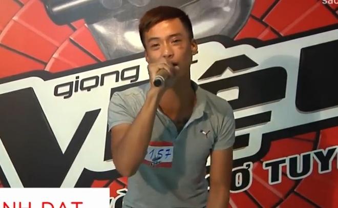 Clip Dat Co thi The Voice 2017 bat ngo xuat hien tren mang hinh anh 1