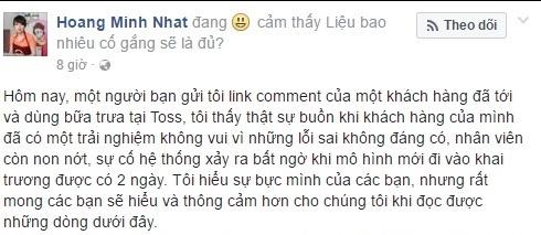 'Vua dau bep' Minh Nhat noi ve viec bi to sao chep tam thu hinh anh 2