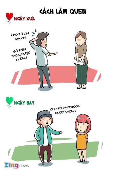Tinh yeu thoi Facebook, Zalo khac xua nhu the nao? hinh anh 1