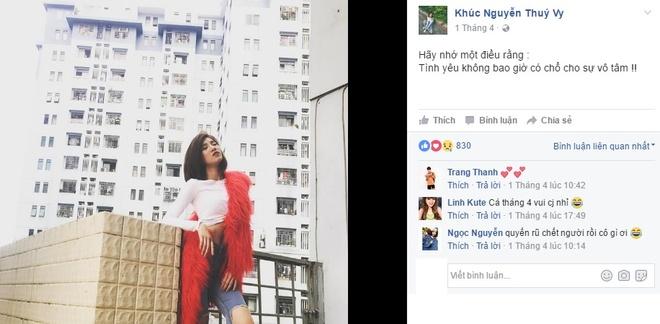 Minh Tu BB&BG tuyen bo chia tay ban gai tren Facebook hinh anh 2