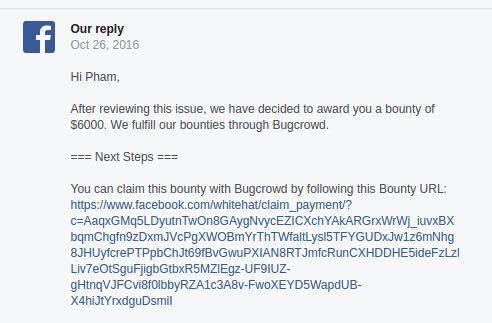 Chang trai Viet duoc Facebook trao 6.000 USD vi tim ra lo hong lon hinh anh 2