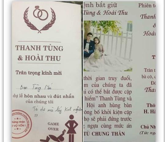 Thiep cuoi 'lenh truy na' doc dao cua doi tre Tuyen Quang hinh anh 1