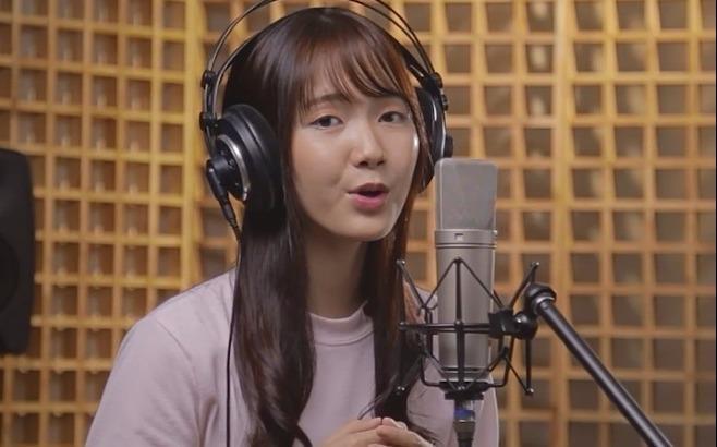 Hot girl Jang Mi bi che cover lam hong bai hat 'Co em cho' hinh anh