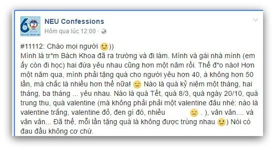 Co gai doi nguoi yeu tang qua 50 lan mot nam la 'dao mo'? hinh anh 1