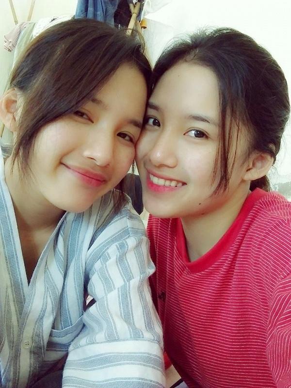 Chi em song sinh Hai Phong cover 'Co em cho' hinh anh 2