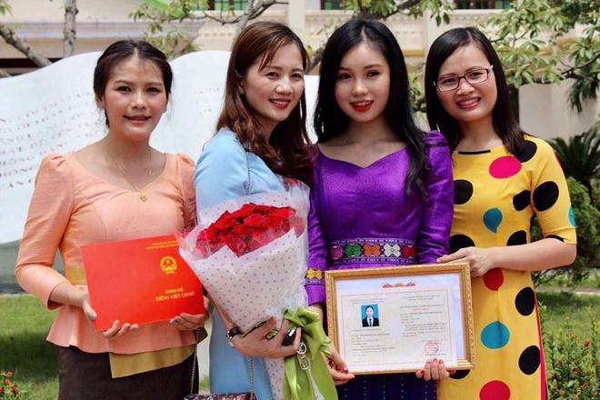 Thieu nu Lao xinh dep gioi tieng Viet, uoc mo lam bac si hinh anh 8