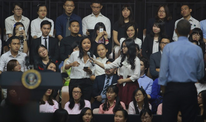 Nhung co gai Viet bong dung noi tieng vi duoc gap go Jack Ma, Obama hinh anh 5