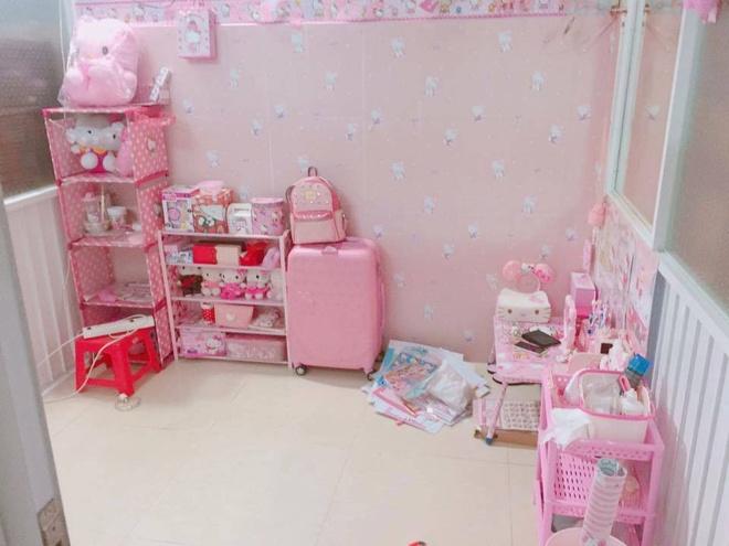 Co gai Sai Gon cuong Hello Kitty van duoc ban trai het long ung ho hinh anh 1