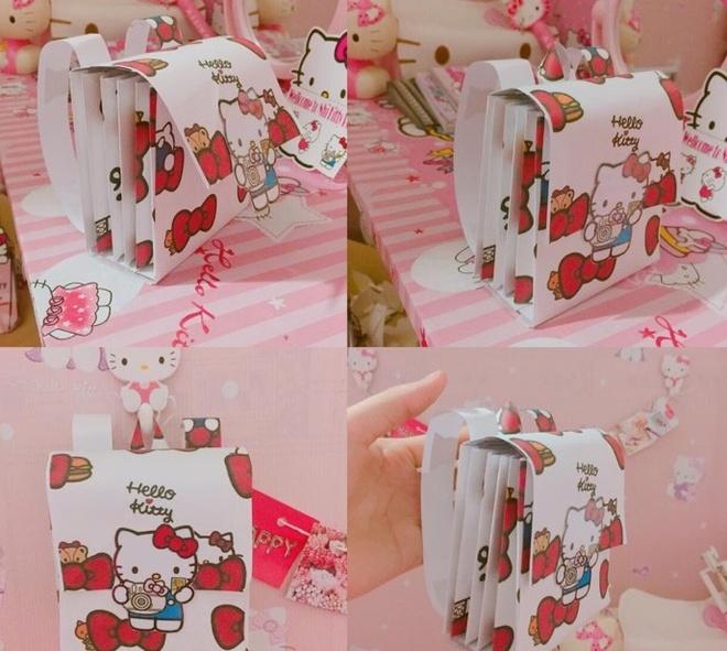 Co nang fan cuong Hello Kitty anh 2