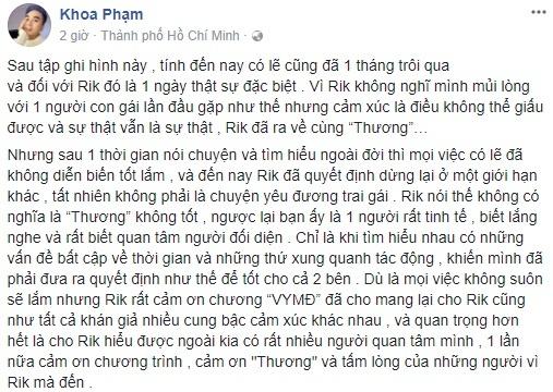 Karik va nu sinh Thanh Hoa gio ra sao sau mot thang tim hieu? hinh anh 2