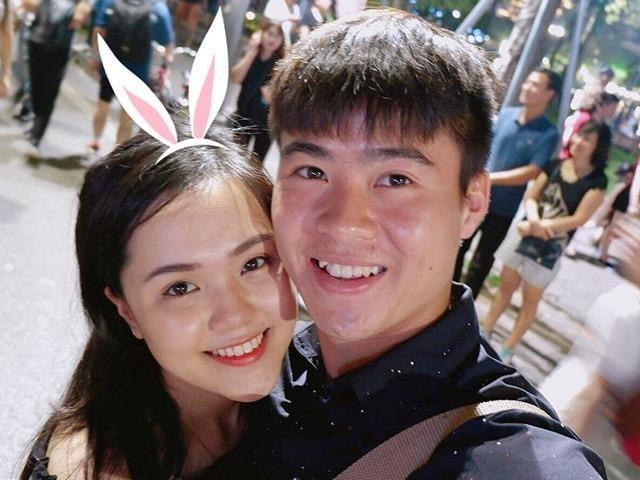 Ban gai xinh nhu hot girl cua tien ve U23 Viet Nam Do Duy Manh hinh anh