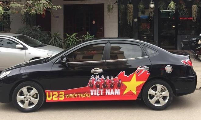 Xe tai hang nang co vu U23 Viet Nam truoc them chung ket hinh anh 8