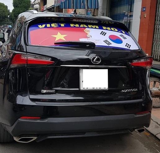 Xe tai hang nang co vu U23 Viet Nam truoc them chung ket hinh anh 9