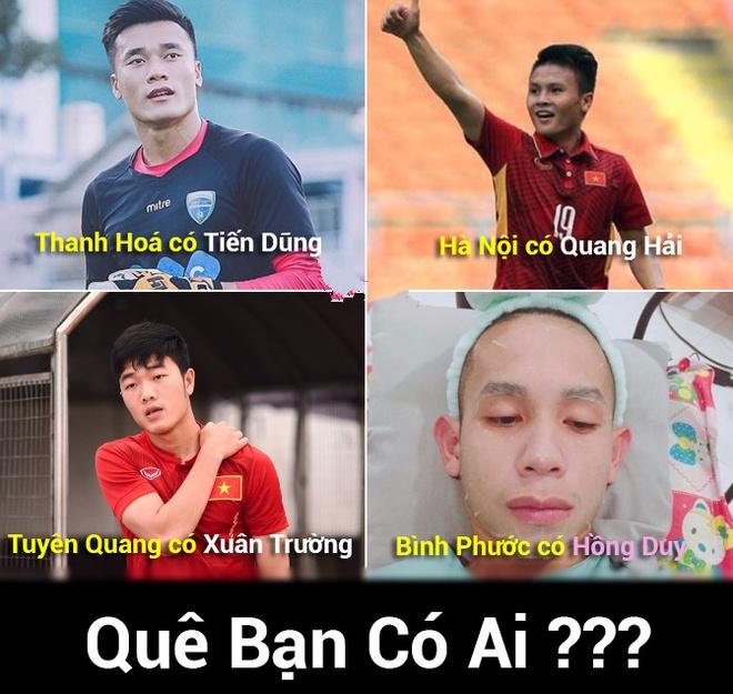 Mang xa hoi tran ngap mau do va niem tin U23 Viet Nam vo dich hinh anh 10