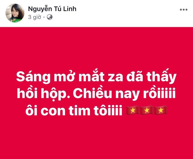 Mang xa hoi tran ngap mau do va niem tin U23 Viet Nam vo dich hinh anh 8