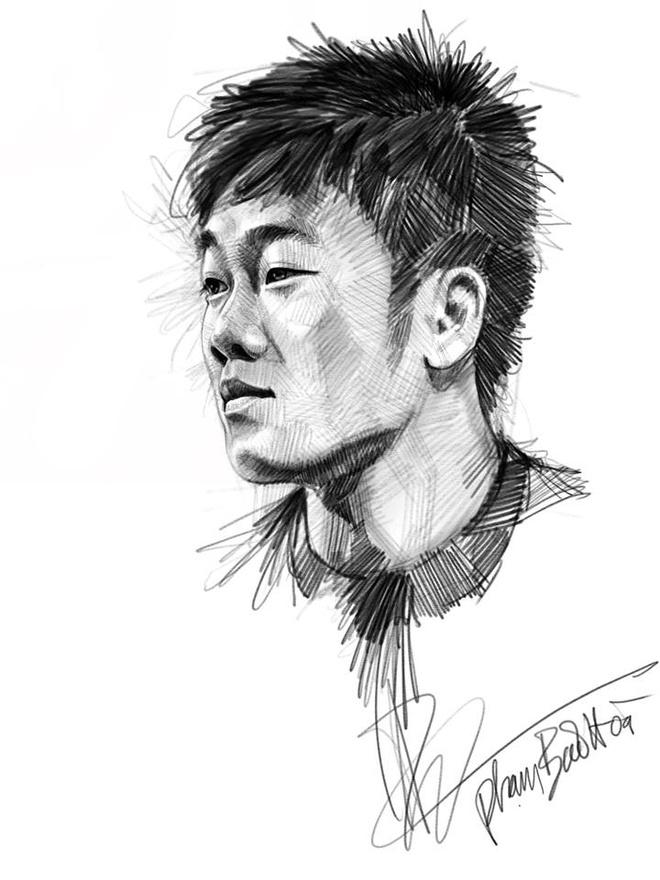 HLV Park Hang-seo va toan doi U23 Viet Nam song dong qua tranh ve hinh anh 7