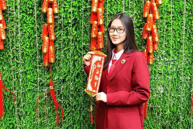 hoc sinh truong THPT Nguyen Binh Khiem anh 2