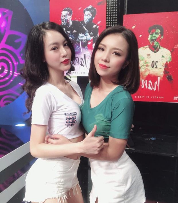 Hot girl co vu World Cup duoc chu y khi dong 'Quynh bup be' hinh anh 3