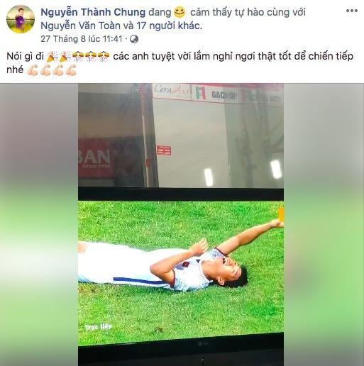 loi chuc gui cau thu olympic Viet Nam anh 2