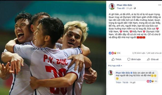 loi chuc gui cau thu olympic Viet Nam anh 6