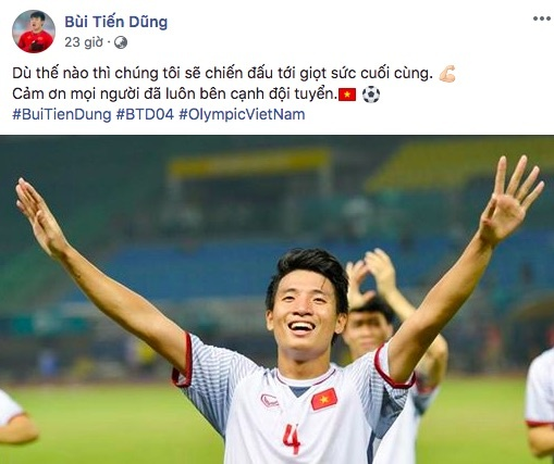 loi chuc gui cau thu olympic Viet Nam anh 7