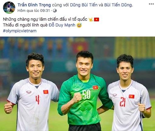 loi chuc gui cau thu olympic Viet Nam anh 8