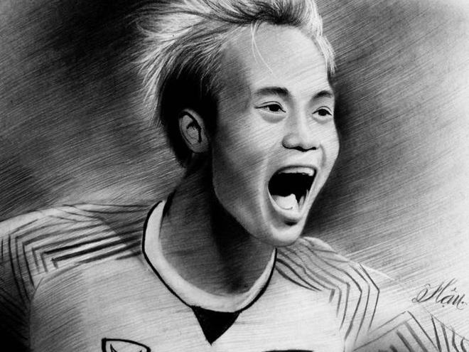 9X Quang Ngai ve chan dung cac cau thu de cam on Olympic Viet Nam hinh anh
