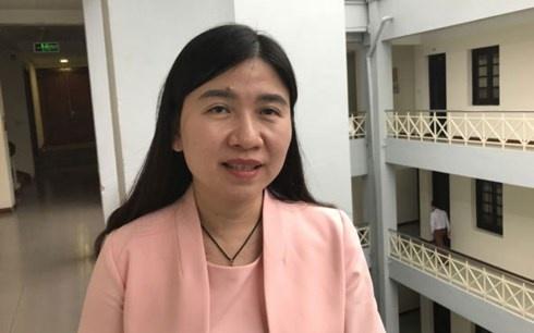 Bà Nguyễn Thị Nga - Phó Cục trưởng Cục trẻ em, Bộ Lao động, Thương binh và Xã hội.