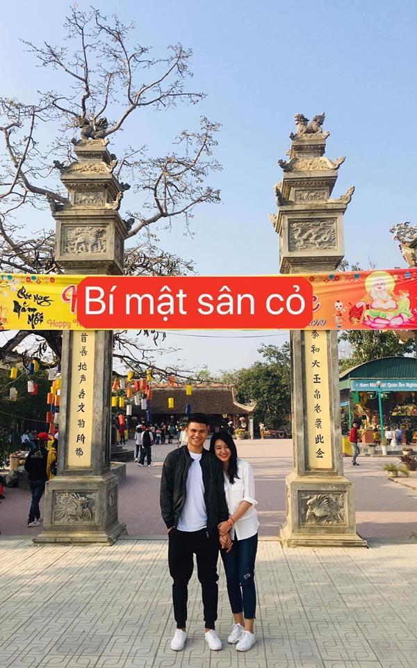 Xuan Manh cong khai ban gai xinh dep anh 5