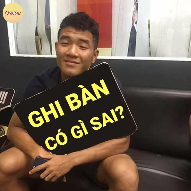 Anh che Duc Chinh 'da khong con den' sau tran thang U23 Thai Lan 4-0 hinh anh 1
