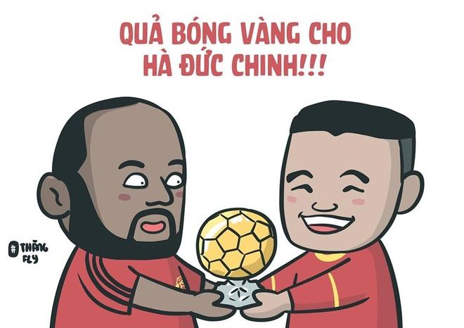 Anh che Duc Chinh 'da khong con den' sau tran thang U23 Thai Lan 4-0 hinh anh 2