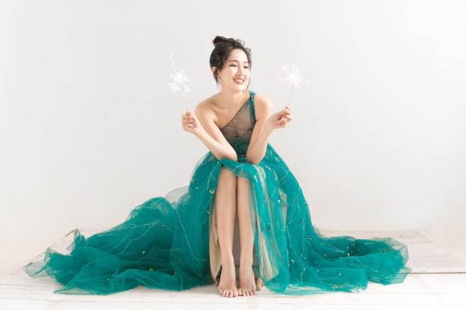 Khong nhan ra Kieu Trinh Xiu trong bo anh goi cam mung tuoi moi hinh anh 8