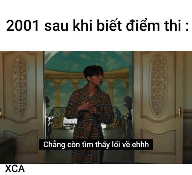 Anh che Son Tung, Den Vau noi thay cam xuc 2K1 sau khi biet diem thi hinh anh 1