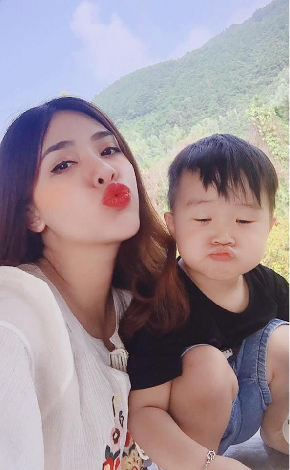 Hot girl Ha Min duoc khen xinh dep khi mang bau lan 2 hinh anh 4