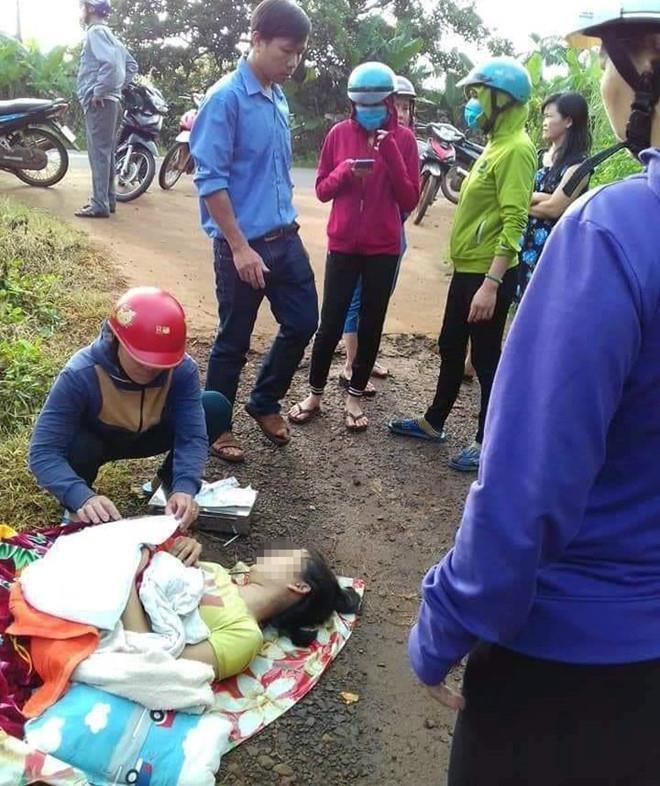 Trung ten tai xe bo san phu o Binh Phuoc, 9X bi dan mang 'doa giet' hinh anh 1