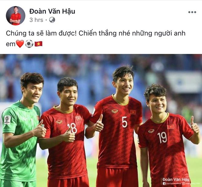 Van Duc chuc U23 'an Tet muon', Trong Hoang mong dan em chien thang hinh anh 4 3914_7CB14A02_F3CF_469A_B7B6_BACCA18FBA62.jpg