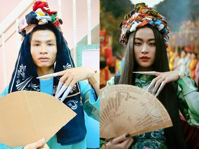 Cosplay tu Son Tung M-TP den Hoang Thuy Linh 'phien ban loi' hinh anh 4 86498840_2583552095223328_5161293256511717376_n.jpg