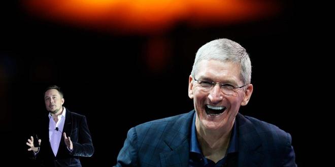 Mat 46 nguoi vao tay Apple, Tesla mia mai: 'Ho giau gap 100 lan' hinh anh