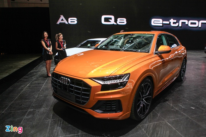 Can canh SUV Audi Q8 sap ve Viet Nam hinh anh 1