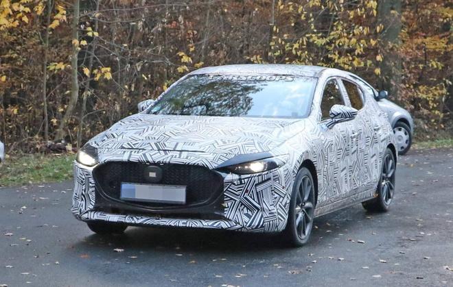 Mazda3 2019 lộ ảnh nội, ngoại thất