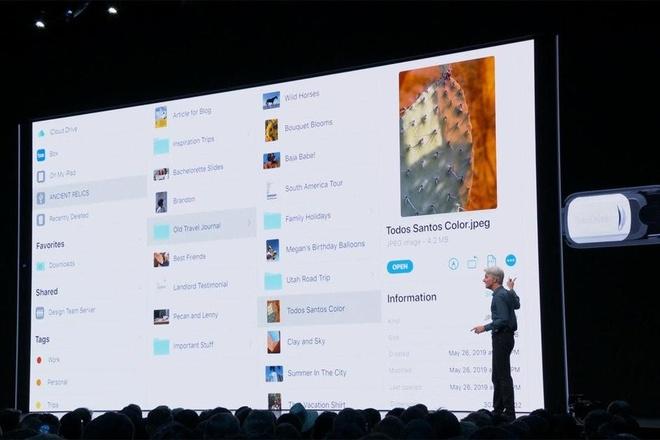Vì sao mãi tới iOS 13 iPhone mới hỗ trợ ổ USB