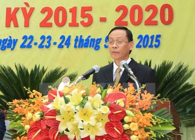Hang loat dia phuong co nhan su moi hinh anh 3 Bí thư Tỉnh ủy Ninh Thuận nhiệm kỳ 2015-2020, Nguyễn Đức Thanh