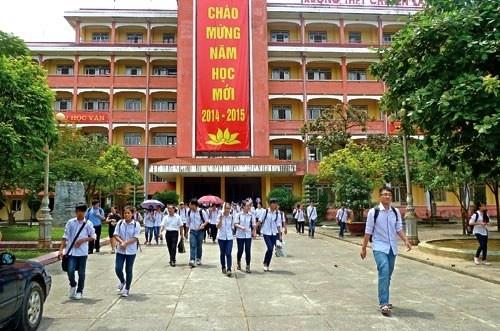 Truong THPT chuyen Lam Son co hieu truong moi hinh anh 1 Trường THPT chuyên Lam Sơn. Ảnh: Hoàng Xuân.