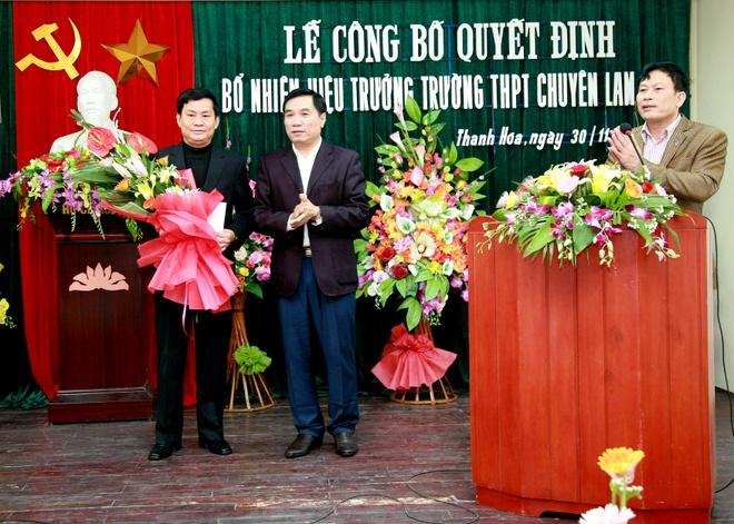 Truong THPT chuyen Lam Son co hieu truong moi hinh anh 3 aaa